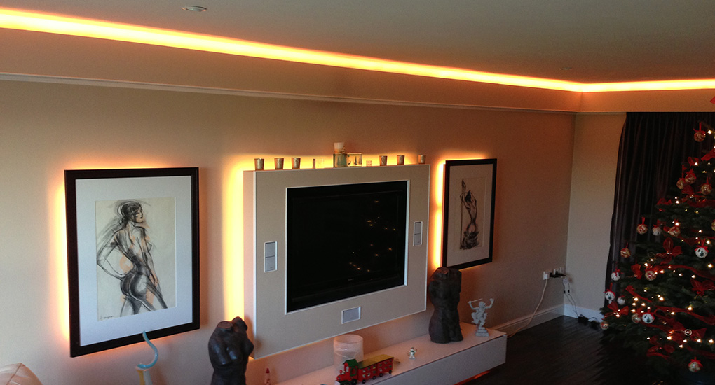 Lounge with Instyle LED Tape
